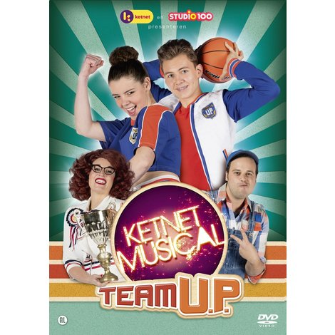 Dvd Studio 100: Ketnet musical - Team U.P.