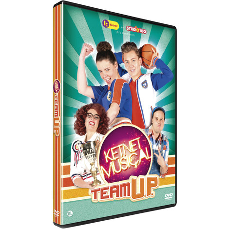 Studio 100 DVD - Ketnet musical Team U.P.