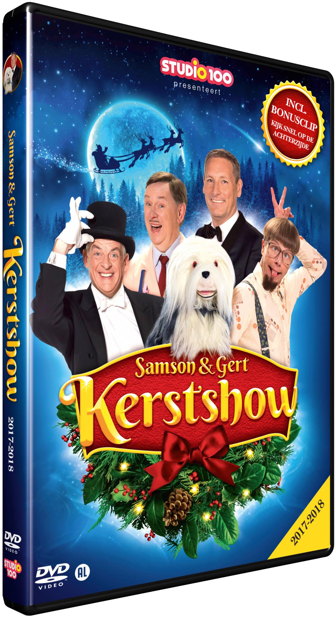 Dvd Samson & Gert: kerstshow 2017/2018