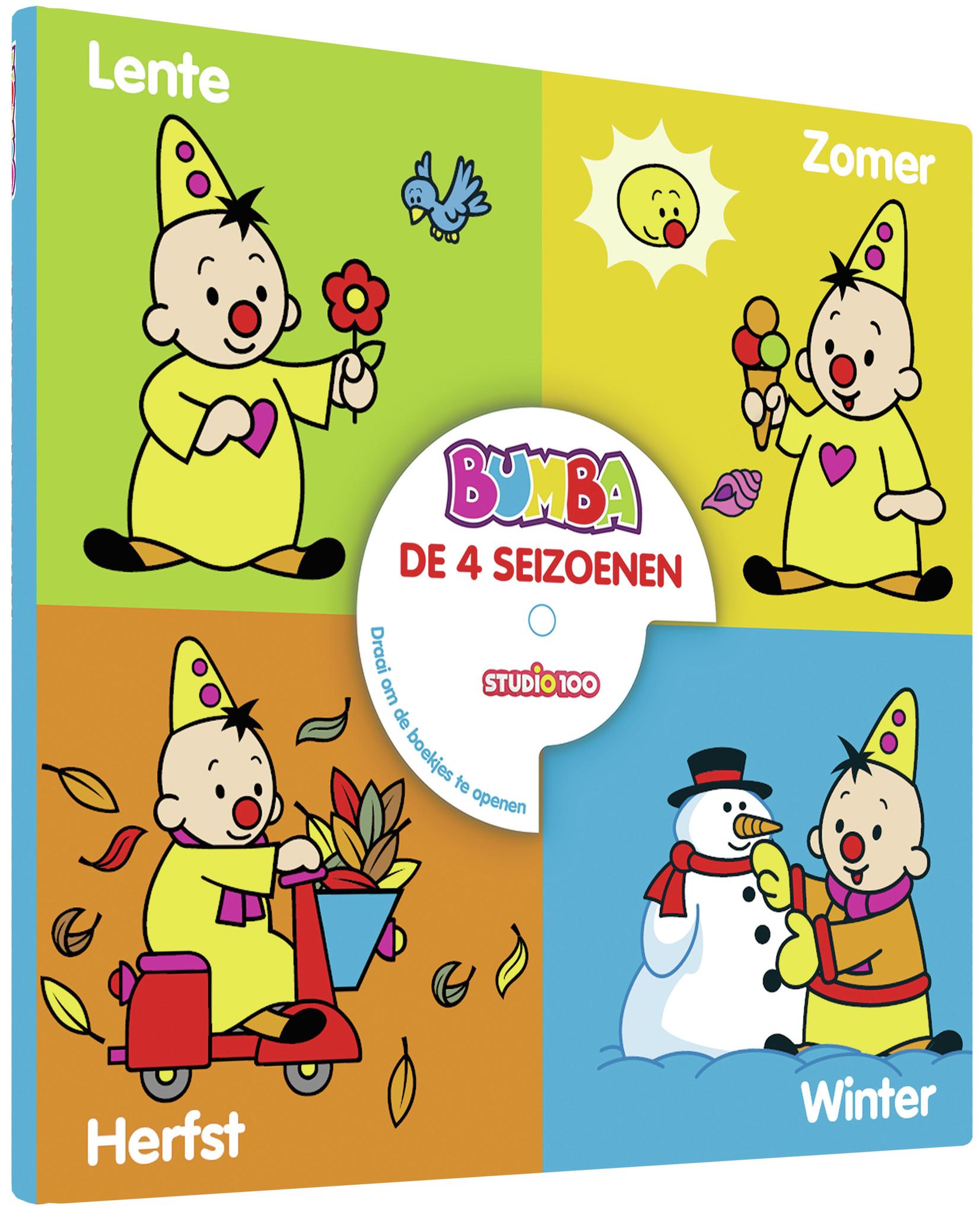 Boek Bumba: De 4 seizoenen
