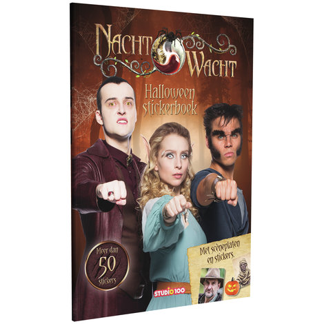 Stickerboek Nachtwacht