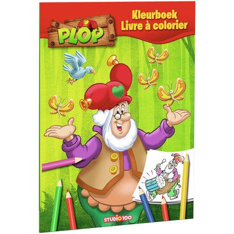 Coloring book Plop