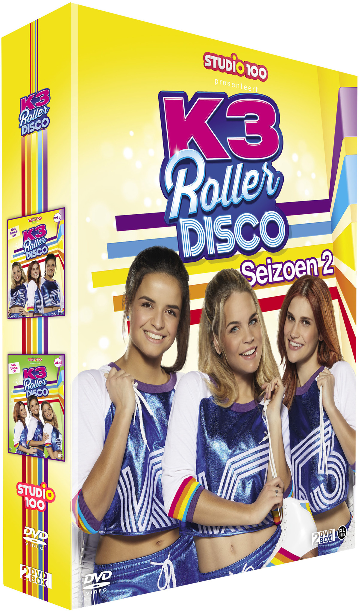 K3 DVD Box: Rollerdisco - Seizoen 2