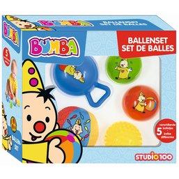 Ballenset Bumba: 5 stuks