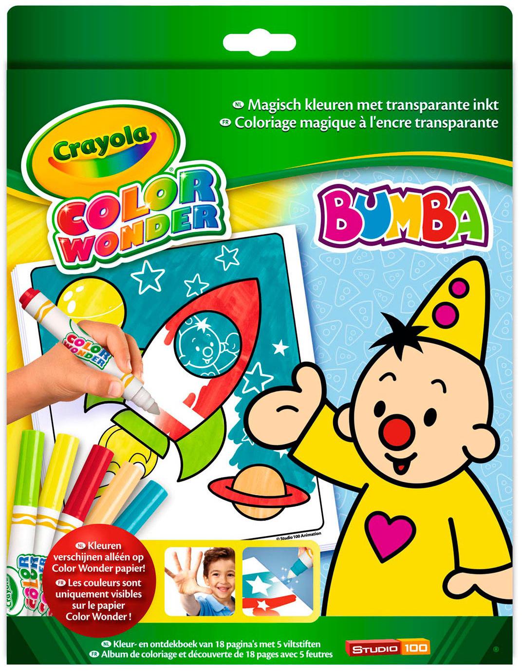 Color Wonder box Bumba Crayola