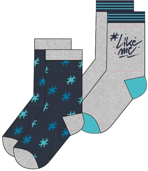 Sokken LikeMe: 2-pack