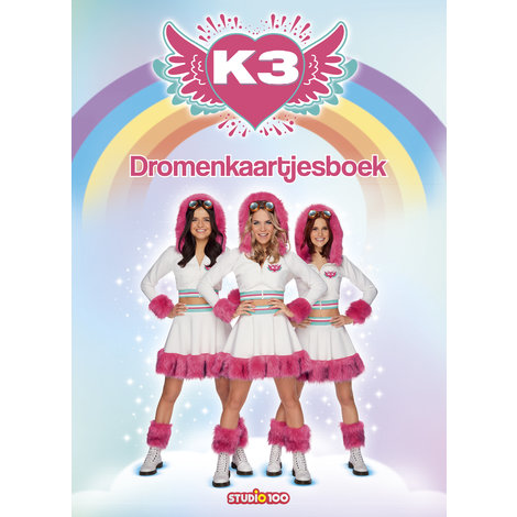 Postkaartenboek K3