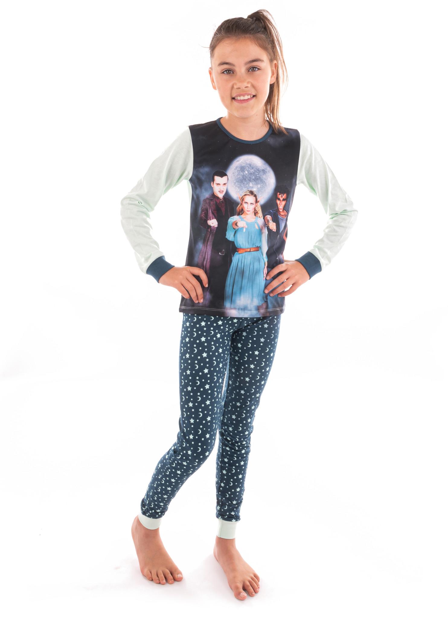 Pyjama Nachtwacht sterren