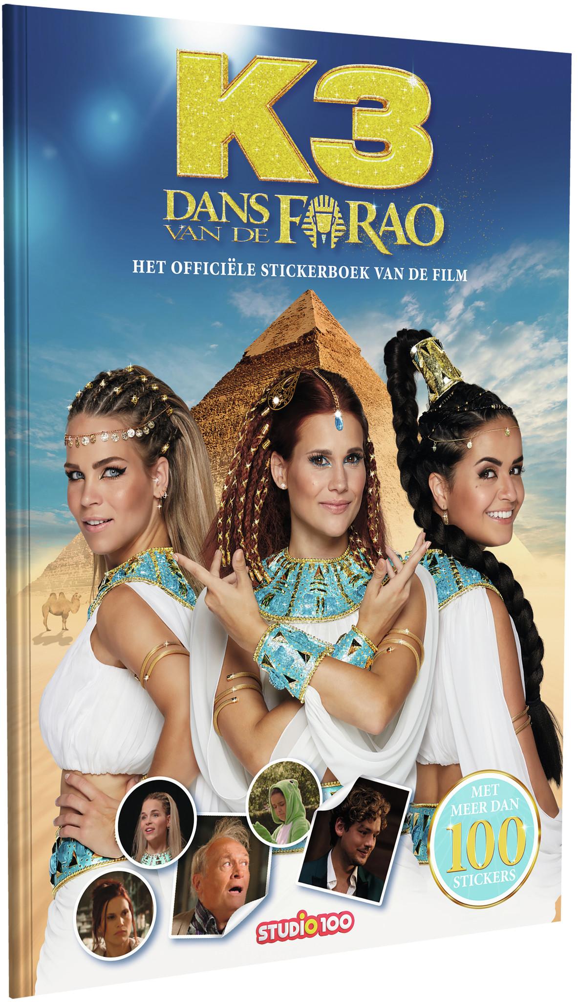 Stickerboek K3: dans van de Farao