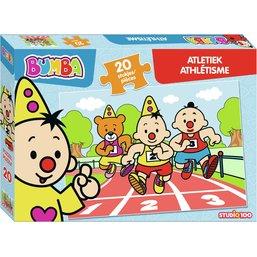 Bumba puzzle 20 pcs - Athlétisme