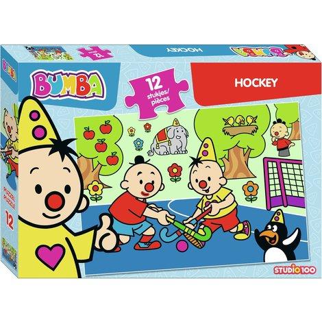 Bumba puzzle 12 pcs - Hockey