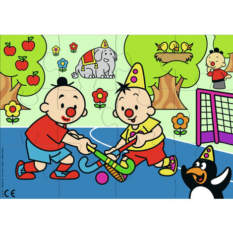Puzzel Bumba hockey: 12 stukjes