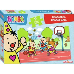 Bumba puzzle 9 pcs - Basketball