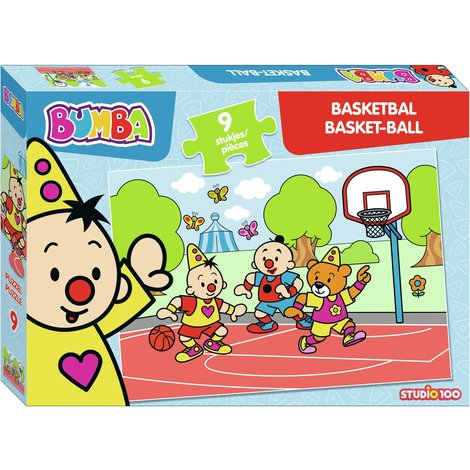 Bumba puzzle 9 pcs - Basketball