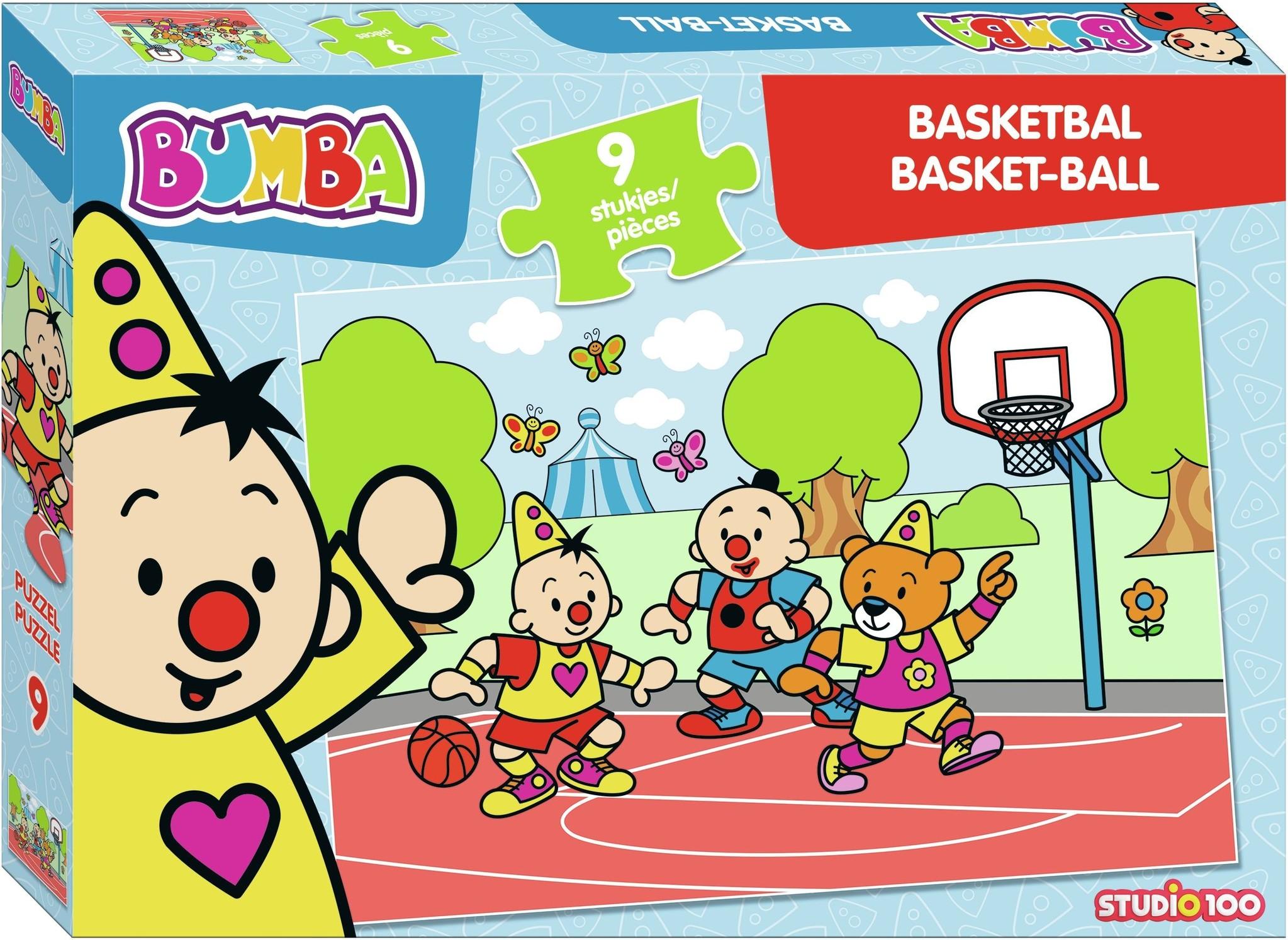Puzzel Bumba basketbal: 9 stukjes
