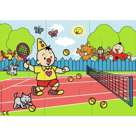 Puzzel Bumba tennis: 6 stukjes