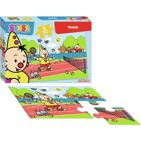 Bumba puzzle 6 pcs - Tennis