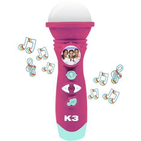 Microfoon K3 met stemopname: dromen