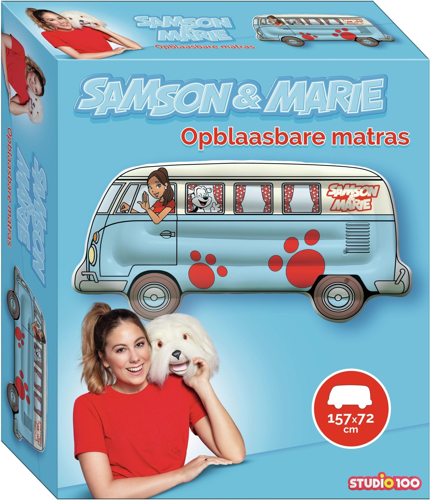 Samson & Marie matelas pneumatique: 157x72 cm