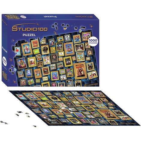Studio 100 puzzle 1000 pcs - 25 ans Studio 100