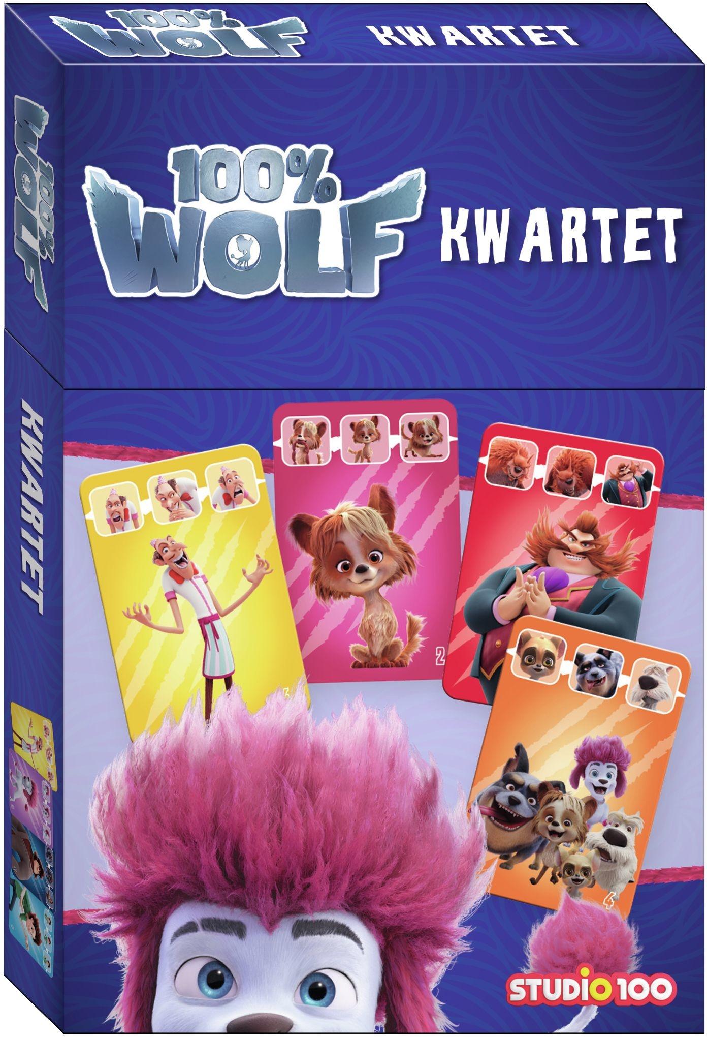 100 % Wolf jeu - jeu de familles