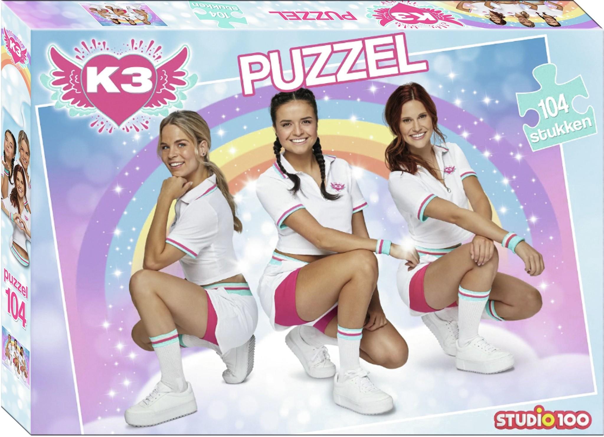 Puzzel K3 dromen: 104 stukjes