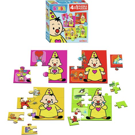 Bumba puzzle 4 in 1
