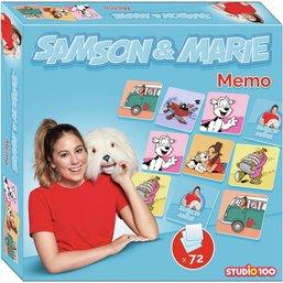 Samson & Marie jeu - mémo