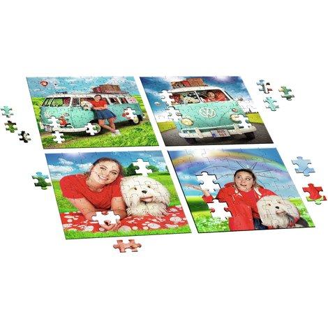 Puzzel 4-in-1 Samson en Marie: 36/49/64/100 stukjes