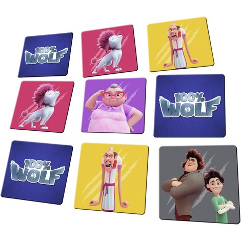 100 % Wolf jeu - mémo