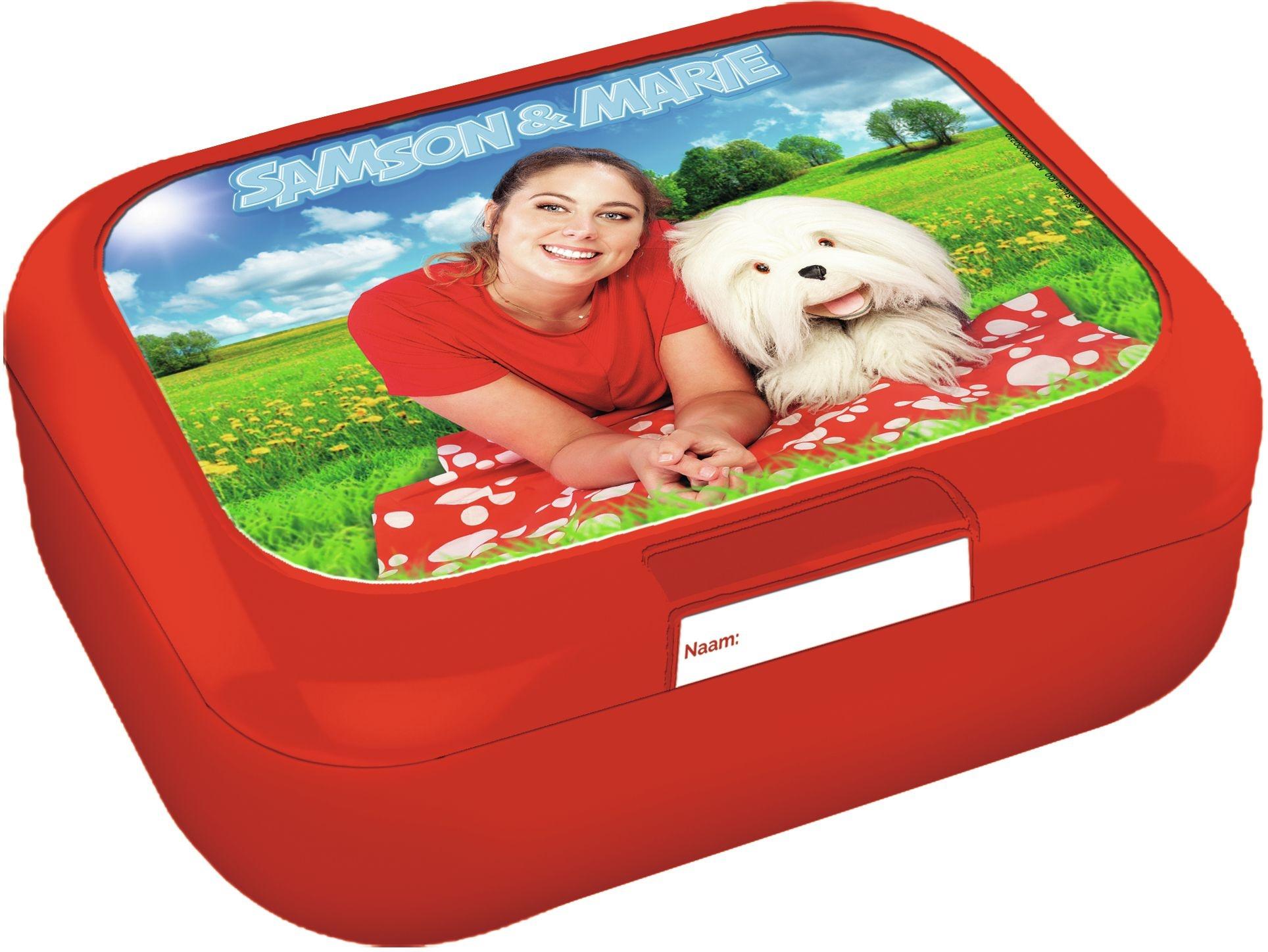 Samson & Marie boîte à biscuits