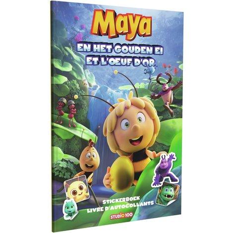 Stickerboek Maya: Maya en het gouden ei