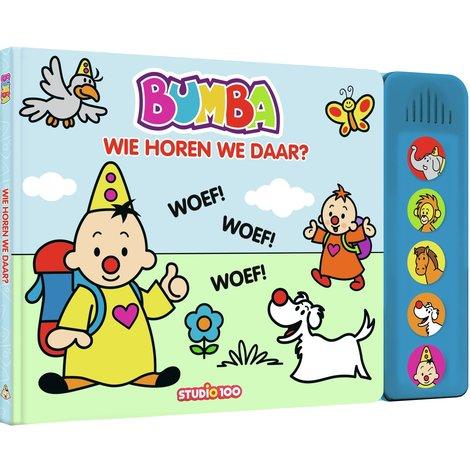 Boek Bumba: wie horen we daar