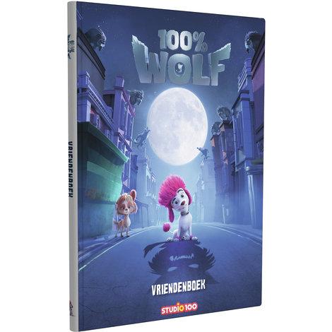Vriendenboek 100% Wolf