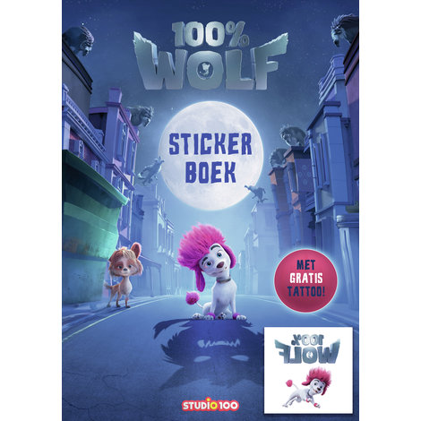 Stickerboek 100% Wolf