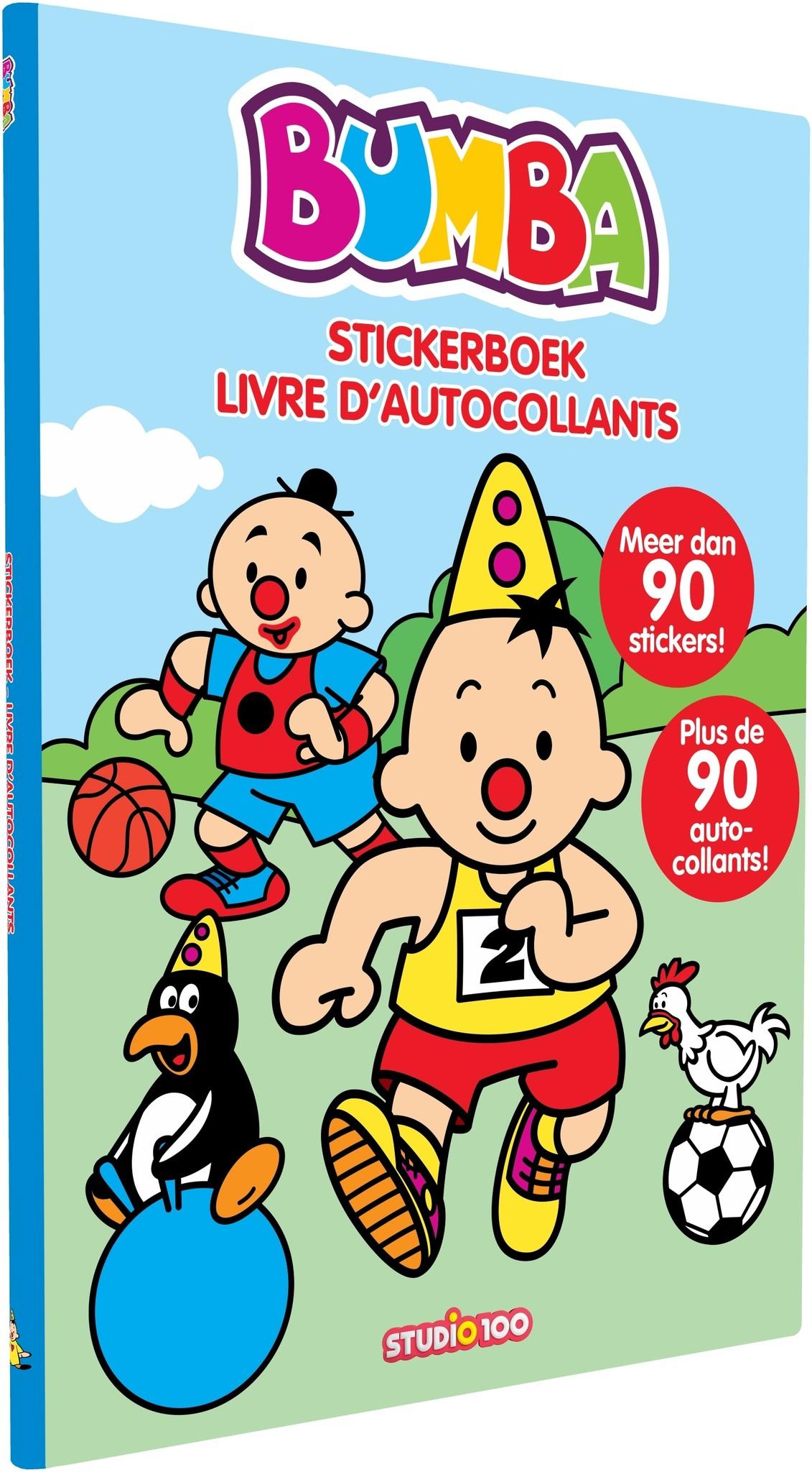 Stickerboek Bumba: sport
