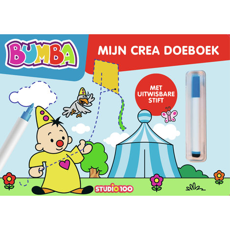 Boek Bumba: schrijf en wis