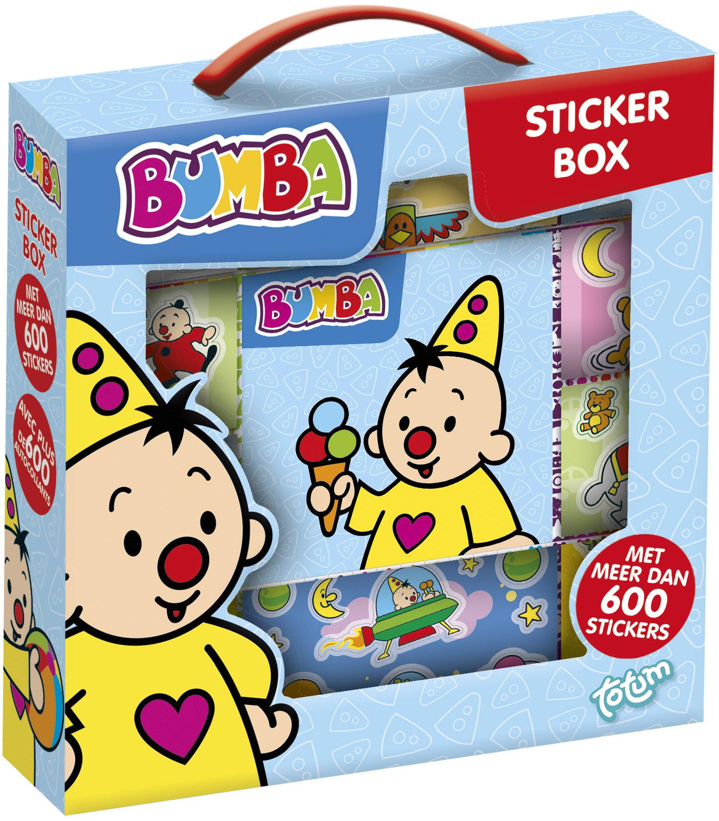 Sticker box Bumba ToTum 600+ stickers