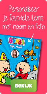Personalised product Bumba Actie