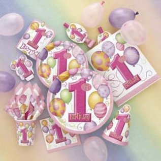 Bekers Pink Balloons