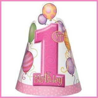 feesthoedjes Pink Balloons