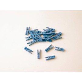 Knijpertjes blauw
