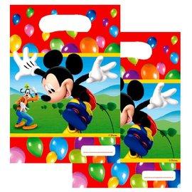 Feestzakjes Mickey Mouse (6st)
