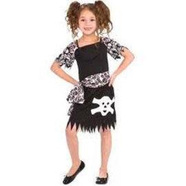 Piratenpakje meisje (3-6 jaar)