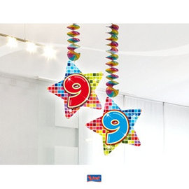hangdecoratie 9 jaar