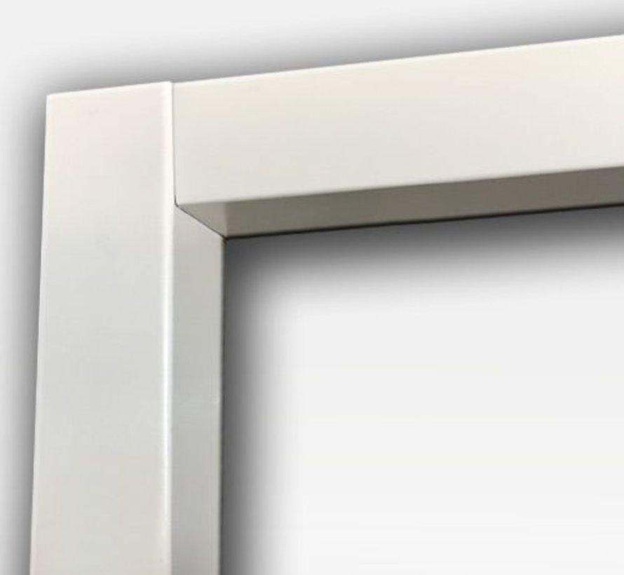 Berkvens® Berdo stalen deurkozijn 70 mm opdek - 2115 mm reinwit (incl. dorpel)
