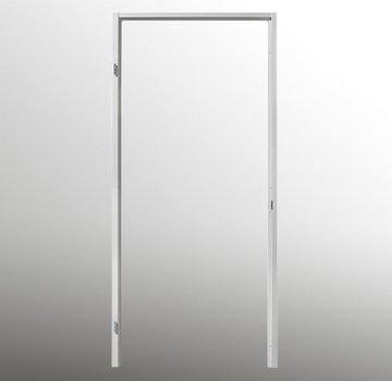 Berkvens® Berdo stalen deurkozijn 100 mm opdek - 2015 mm reinwit (incl. dorpel)