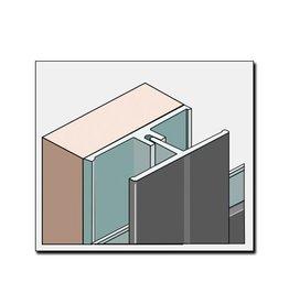 Fortalit Fortalit verbindingsprofiel + montagedeel 600cm