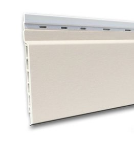 Fortalit Fortalit kunststof rabat Wit RAL 9010 17 mm 600 x 15cm