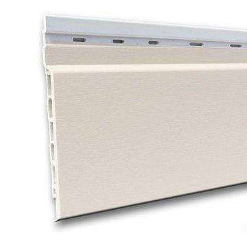 Fortalit kunststof rabat Wit RAL 9010 17 mm 600 x 15cm